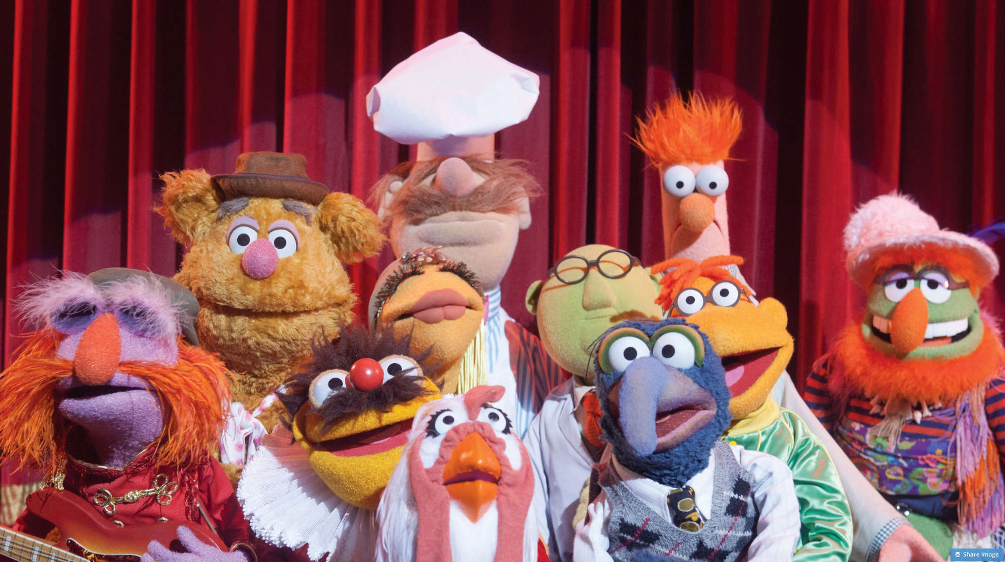 The Muppet Show Characters.